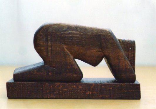 Mourner (Wood)