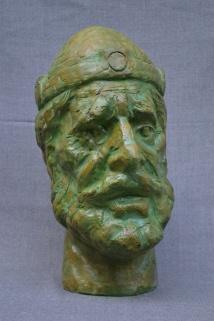 King Samuel (Polymarble, 43x29x22cm, 2011)