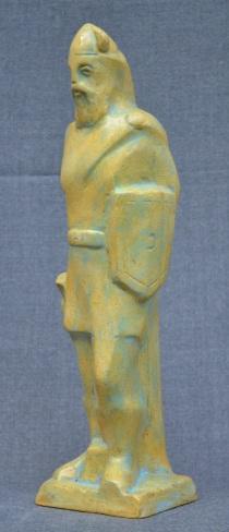 Soldier of King Samuel (Polymarble, 27x10x9cm, 2006)