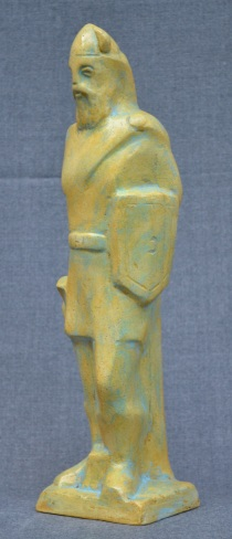 Soldier of King Samuel (Polymarble, 27x10x9cm, 2006)