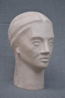 Cleopatra (Polymarble, 29x23x12cm, 2005)