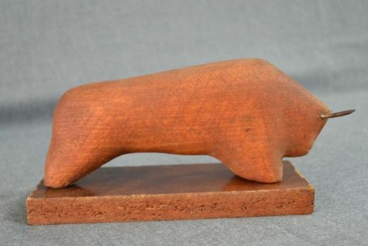 Bull (Wood, 20x10x8, 2003)