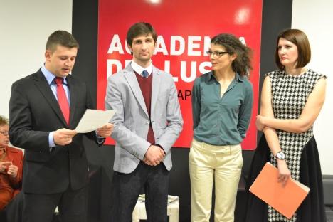 Macedonian Consular Officer Marjan Jovanoski offers opening remarks