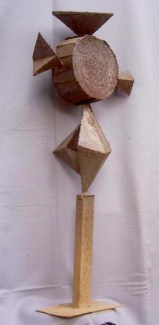 Macedonian Folklore (Metal, 90x35x25cm, 2001)