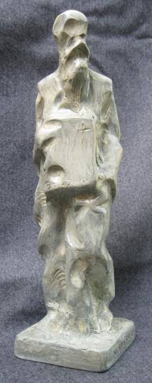 Saint Clement Ohridski (Polymarble, 27x10x10, 2010)