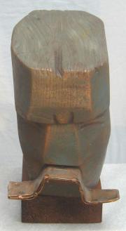 King Marko (Wood and Steel, 20x17x13cm, 2003)