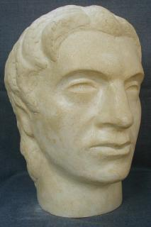 Aleksandar the Great (Polymarble, 32x22x25cm, 2006)