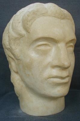 Aleksandar the Great (Polymarble, 32x22x25cm, 2006)