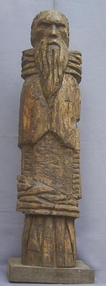 Totem (Wood, 100x25x23cm, 2000)