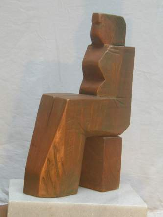 Queen (Wood, 37x20x10cm, 2003)