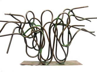 Sound of Nature I (Metal, 28x33x12cm, 2011)
