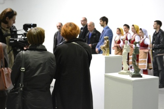 Days of Macedonian Culture, Vrsac, Opening Exhibition