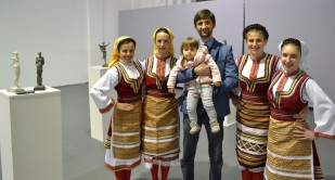 Days of Macedonian Culture, Vrsac, Opening Exhibition - Performers