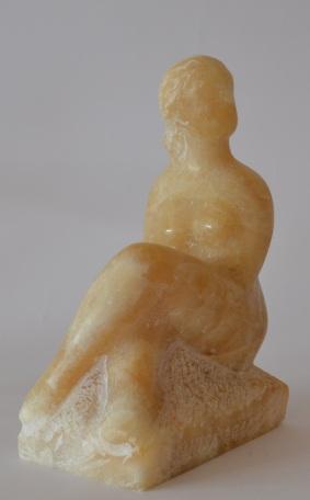 Alone (Onyx, 21x14x8cm, 2011)