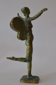 Metamorphosis (Bronze, 36x25x23cm, 2013)