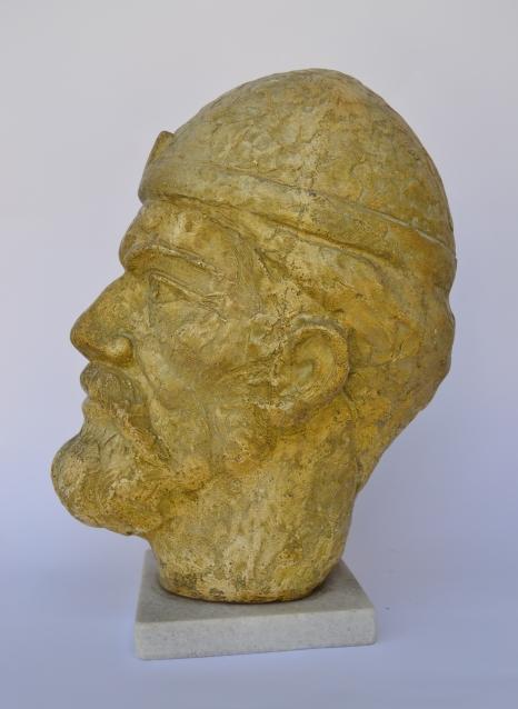 Samuel (Polymarble, 33x26x15cm, 2006)