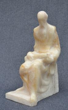 Saint Clement Ohridski (Onyx, 30x17x10cm, 2016)