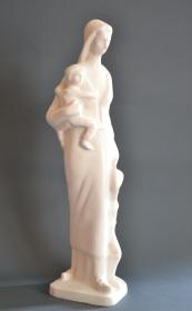 Majka Makedonija - sketch for monument (Plaster, 2016)