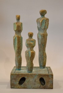 Home (Bronze, 40x21x19 cm, 2020)
